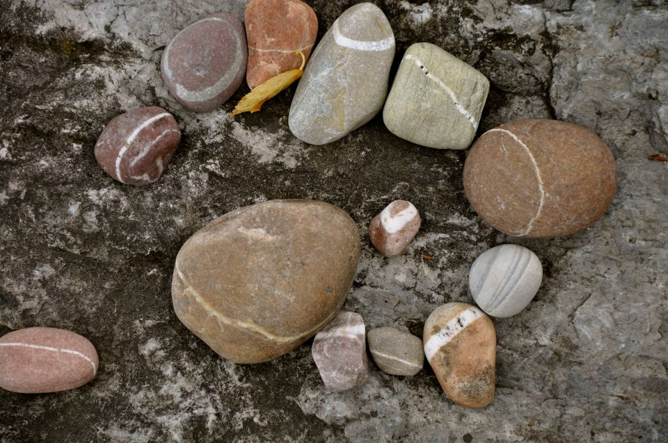 circle of rocks
