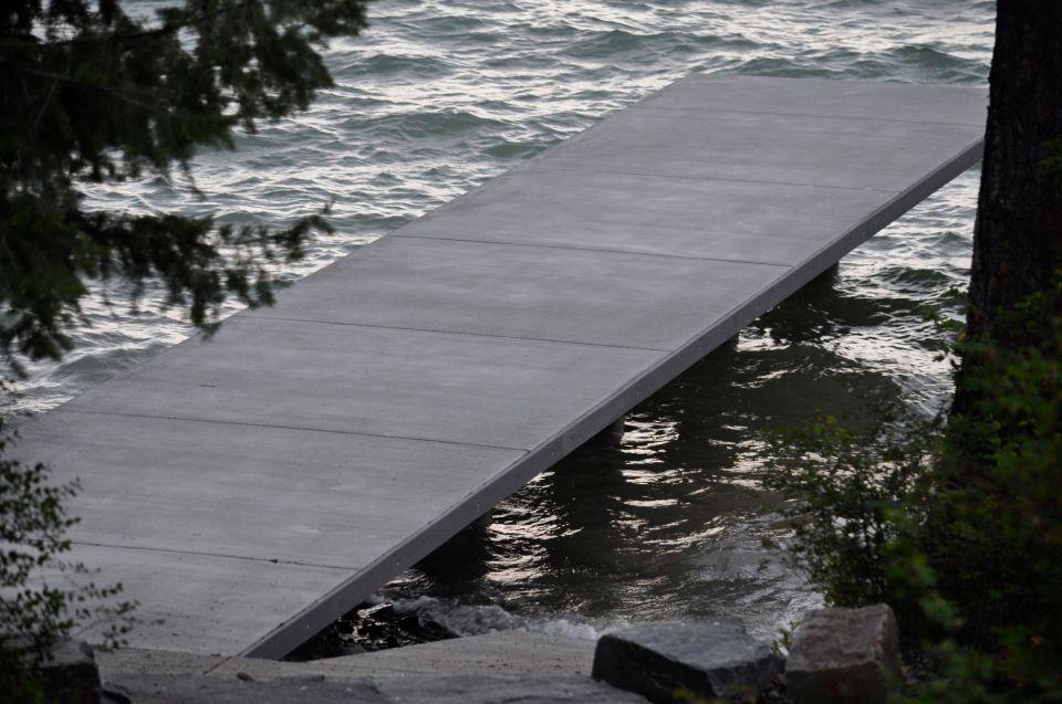 dock still standing