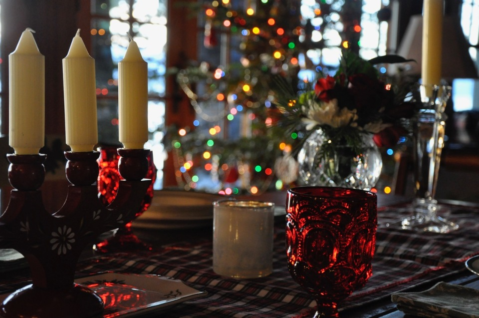 christmas at my table - 1